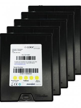 Colordyne 1600 Series Yellow Ink 5 Pack