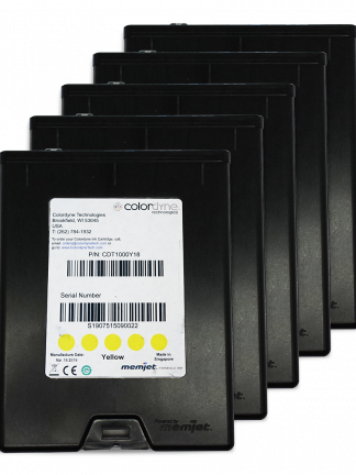 Colordyne 1800 Series Yellow Ink 5 Pack