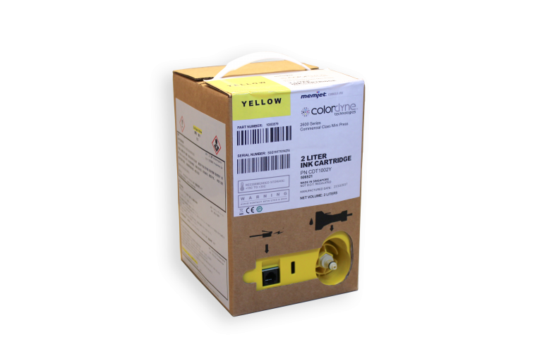 Colordyne 2600 Series Yellow Ink